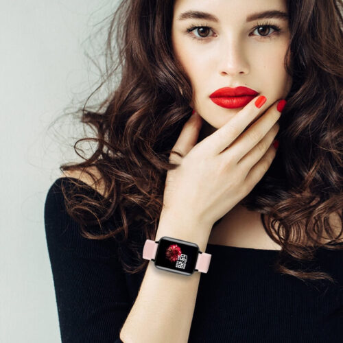 Lady with Smart Watch
